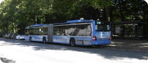 Typical Munich bus