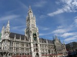 View of the Munich Rathaus from Marienplatz