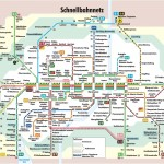High quality map of the Munich Transport system