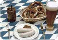Munich restaurants serving the Munich Weisswurst