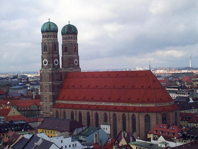 Munich Frauenkirche1998