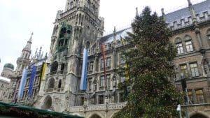 Munich Rathaus on Marienplatz